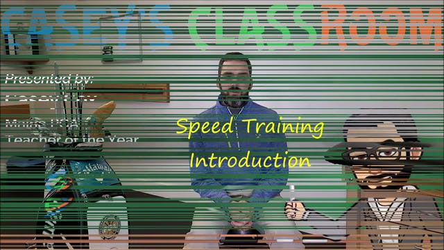 Speed Training Intro