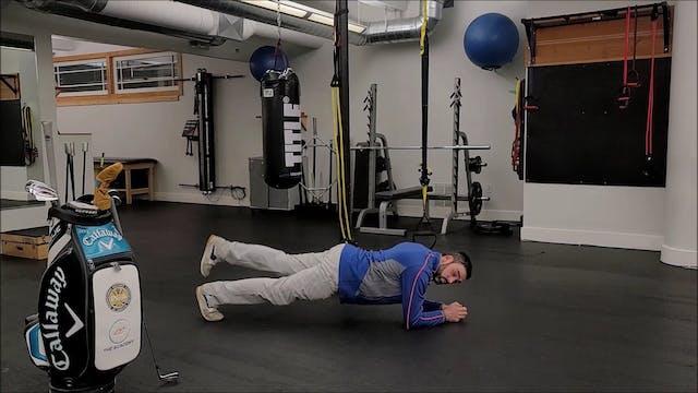 Plank Leg Lifts
