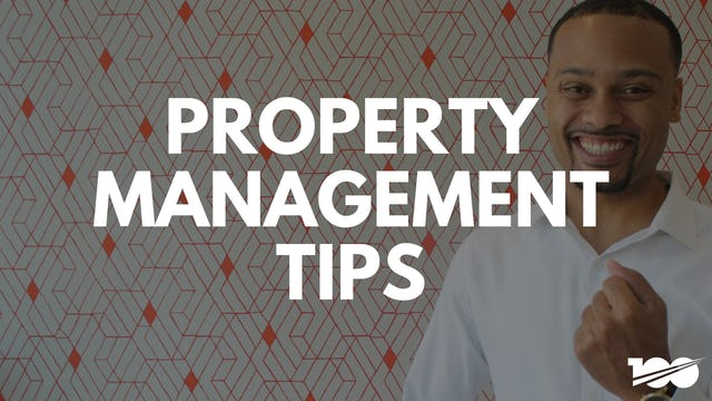 Property Management Tips