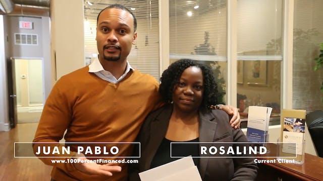 Client Testimonial - Rosalind