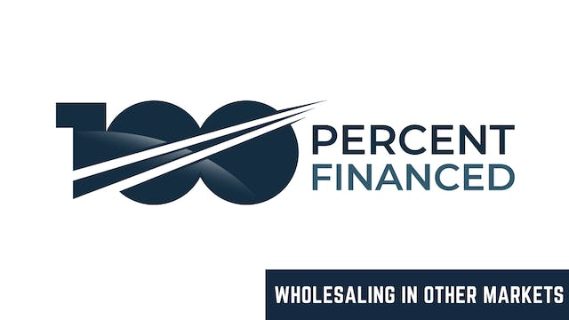 Wholesaling In Other Markets (WRE)