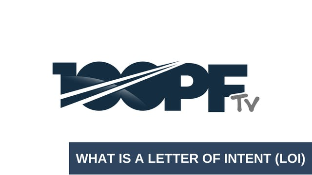 What Is An Letter Of Intent (LOI)