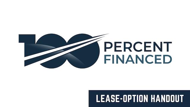 Lease-Option Handout (WRE)