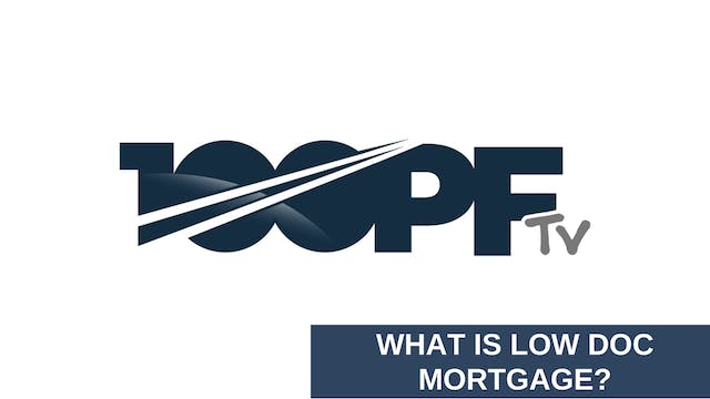 What's A Low Doc Mortgage