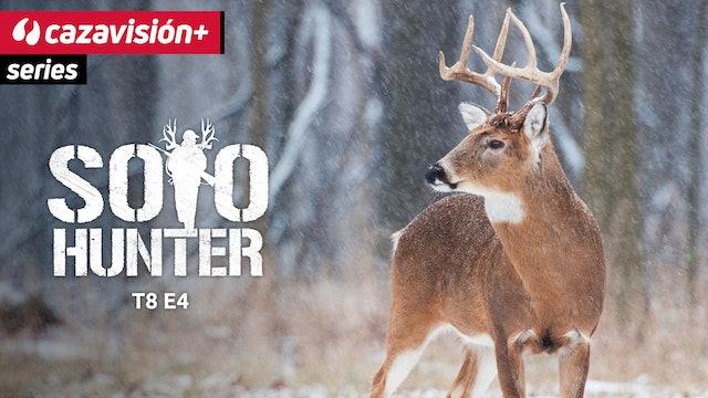 Cola blanca y nieve, caza en estado puro