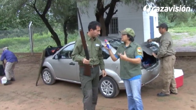 Cazadores extremeños en Argentina