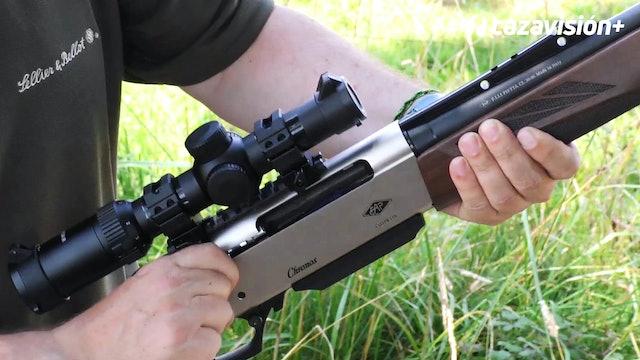 Prueba de armas: Rifle semiautomático F. Lli. Pietta Chronos
