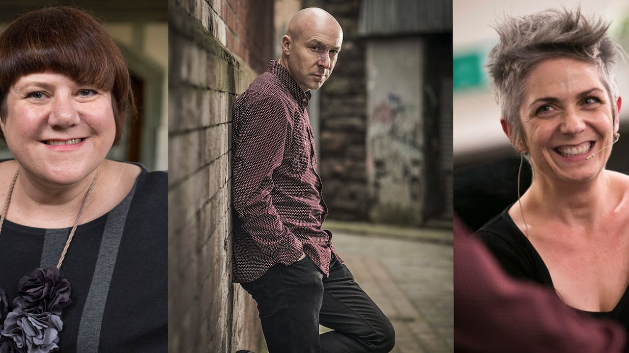 Chris Brookmyre, Denise Mina & Louise Welsh