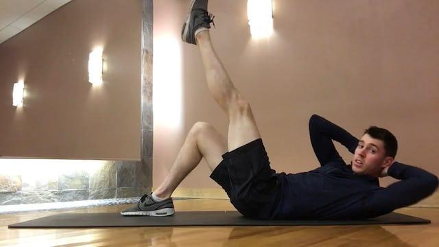 Core Flow + Leg Work [All Levels]
