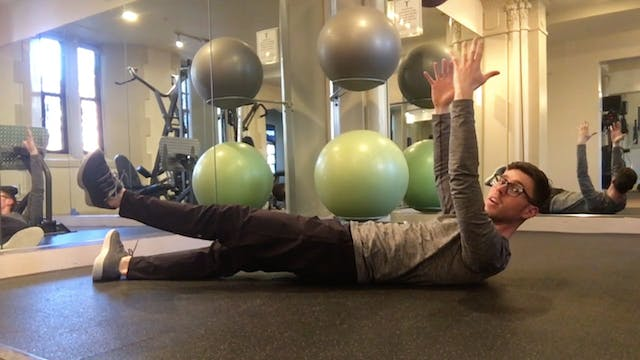 Strong Core + Leg Activation [All Lev...
