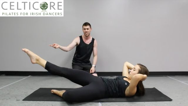 Turnout + Crossing with World Champion Saoirse Deboy [All Levels] - A Fuse Pilates Workout