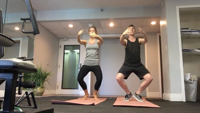 Power Standing Workout 1 feat. Siobhan Manson [All Levels]