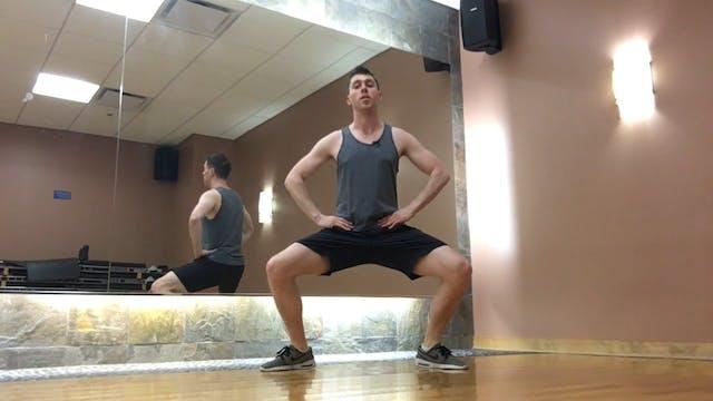 Standing Workout + Footwork Focus [Al...