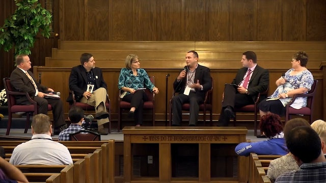 Panel Discussion: 2014 NTS Preachers Conference