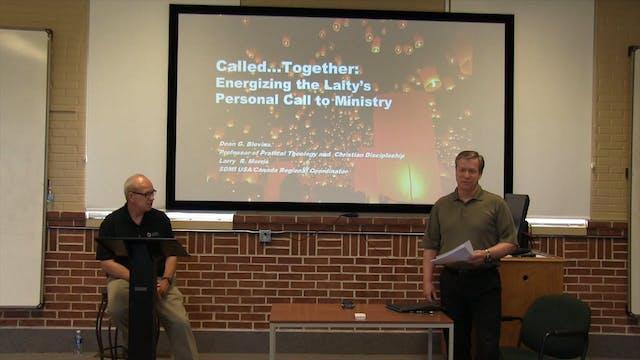 Dr. Dean Blevins and Rev. Larry Morri...