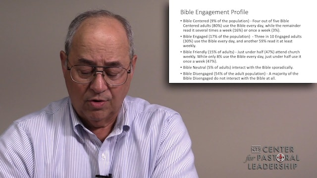 Dr. Roger Hahn: Increasing Biblical Literacy in Your Church