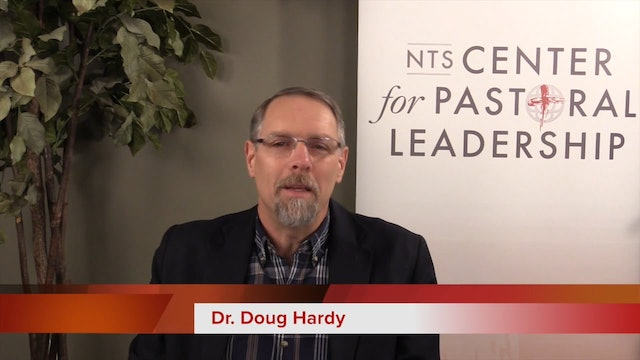 Dr. Doug Hardy: Spiritual Direction for Pastors
