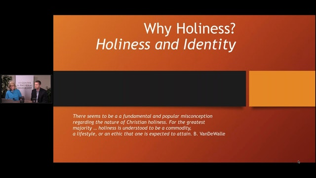 Dr. Carla Sunberg and Dr. Josh Sweeden: Holiness And Church Identity