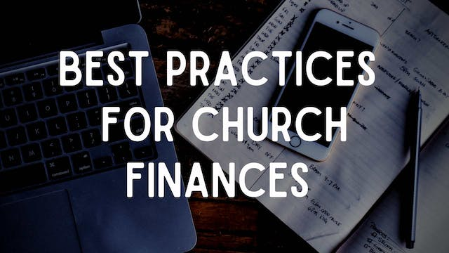 Best Practices for Church Finances