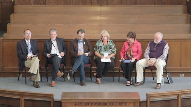 Panel: Forming the Pilgrim People of God
