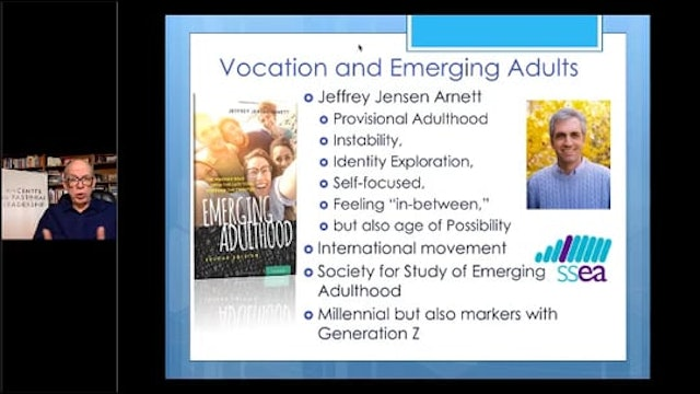 Dr. Dean Blevins: The Role of Calling in the Lives of Emerging Adults