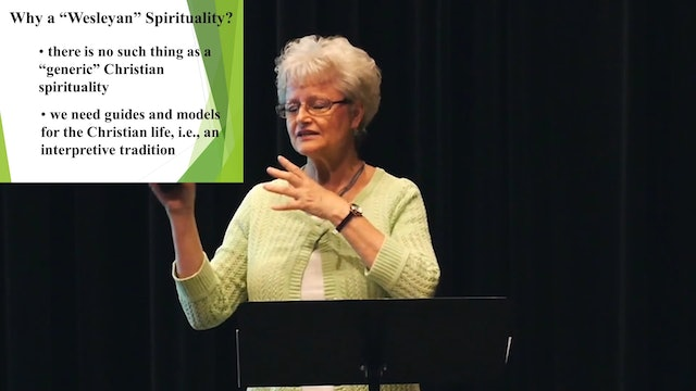 Dr. Judi Schwanz: Wesley Spiritual Practices as a Resource for Ministry