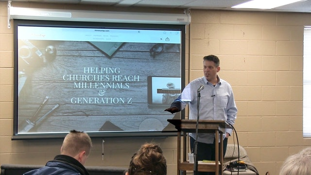 Rev. Chris Folmsbee: Helping Churches Reach Millennials and Gen Z