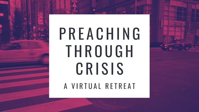 Dr. Roger Hahn: Preaching and Conflict