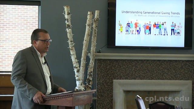 Dr. Mark Lail: Understanding Generati...