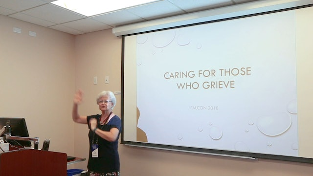 Dr. Judi Schwanz: Caring for Those Who Grieve