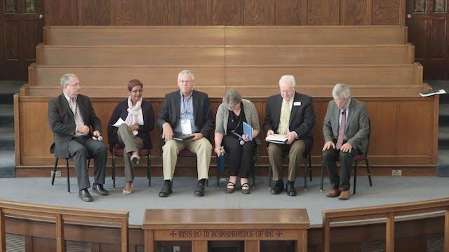 Panel: Preparing Leaders for Exile & ...