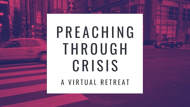 Dr. Mike Jackson: Preaching Planning in Times of Crisis