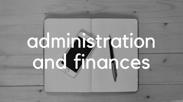 Administration and Finances