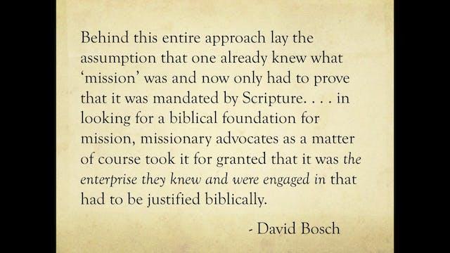 Dr. Michael Goheen: The Missional Chu...