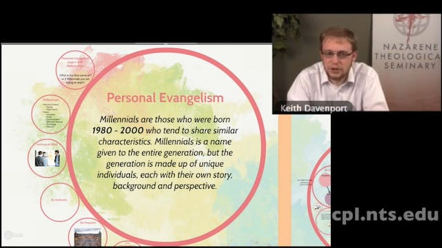 Rev. Keith Davenport: Millennials in ...