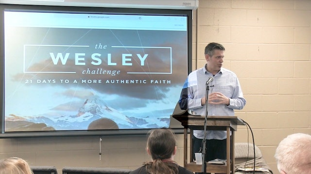 Rev. Chris Folmsbee:  The Wesley Challenge