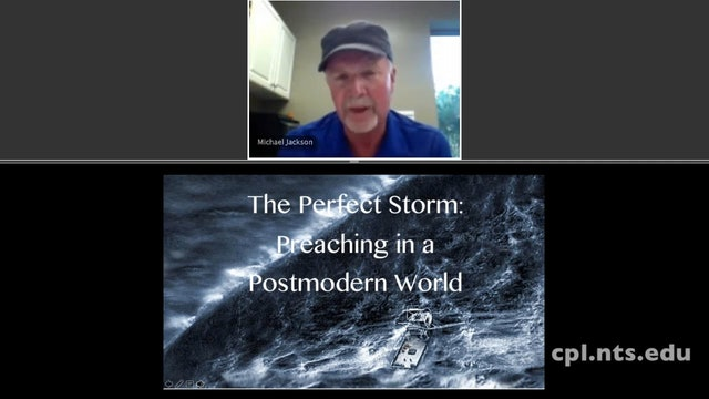 Dr. Mike Jackson: Preaching Through the Perfect Storm