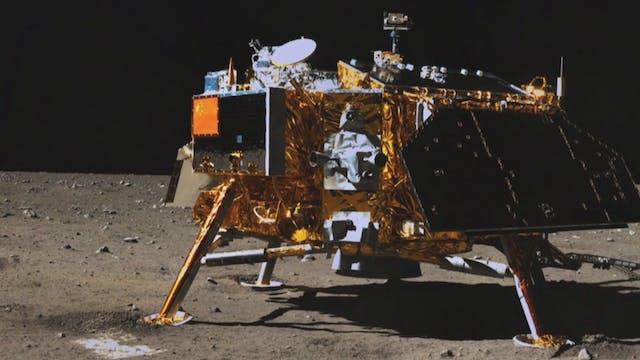 Moon landing: Then & Now