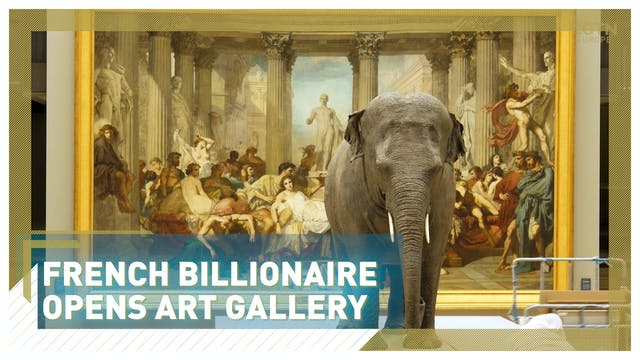 French billionaire opens new art gall...