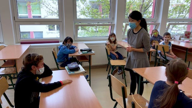 Budapest bilingual school only one of...
