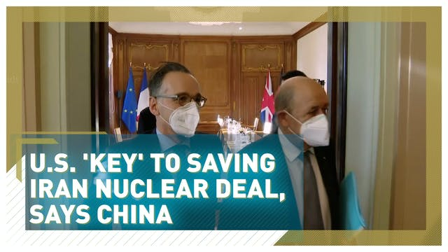 China says U.S. 'key' to salvaging Ir...