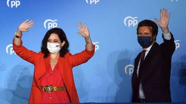 Right-wing Popular Party wins Madrid ...
