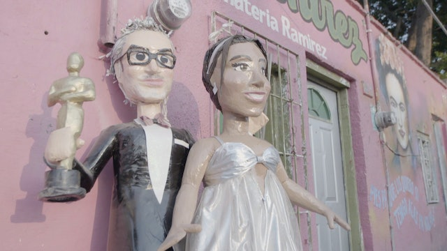 Famous personalities made into pinatas