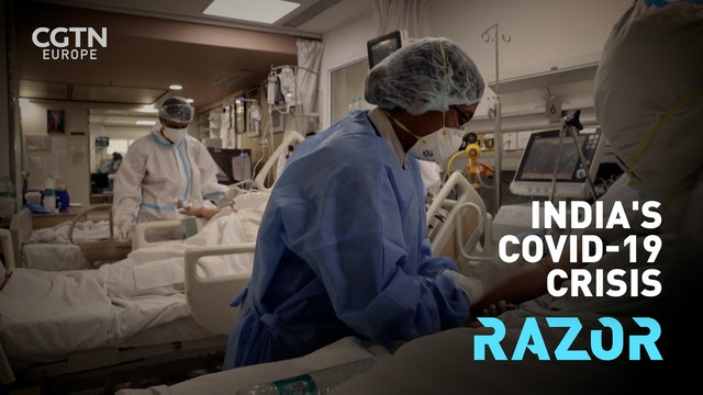 UK doctors help remotely as India battles second deadly wave #RAZOR