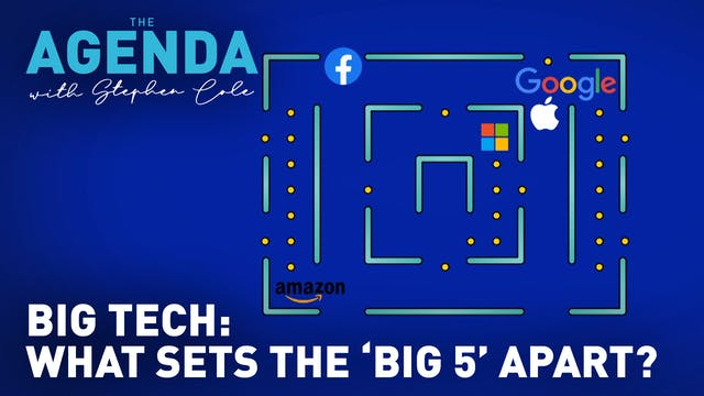 "BIG TECH: What sets the ""Big 5"" apart..."