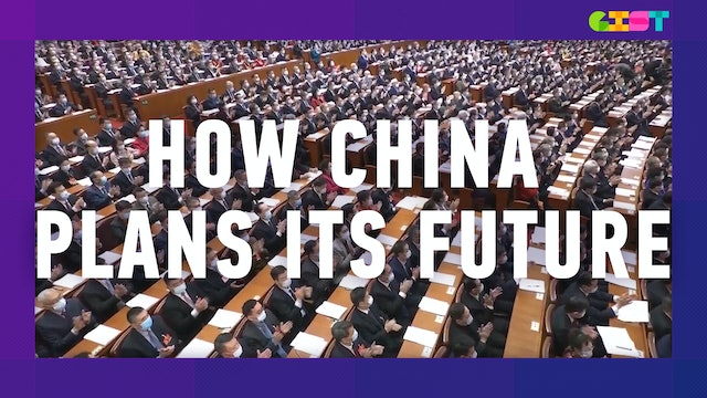 How does China plan its future?
