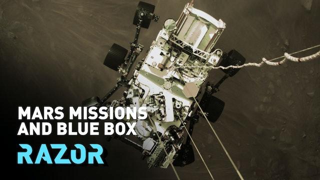Mars missions and blue box - #RAZOR