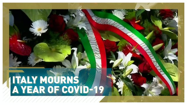 Italy mourns after one year of fighti...