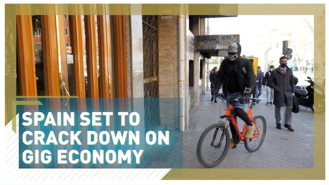 Deliveroo and Glovo braced for Spain'...