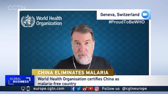 How did China achieve malaria-free st...
